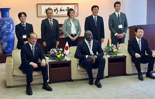 Diaspora: Le Docteur Lassina ZERBO, Citoyen d'honneur  de la ville d'Hiroshima au Japon