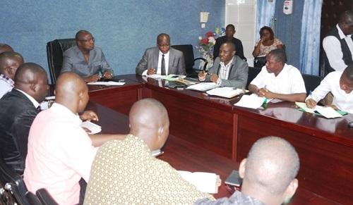Ministère des infrastructures: Le bureau de la mutuelle a rencontré le ministre Eric Bougouma