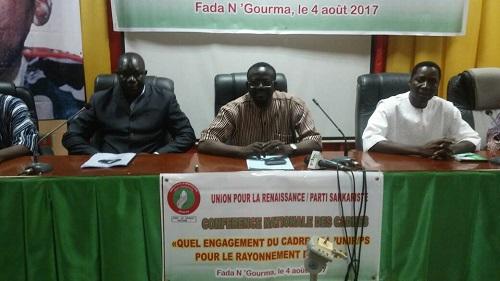 Vie des partis: Les cadres de l'UNIR/PS en conclave à Fada pour le rayonnement du parti
