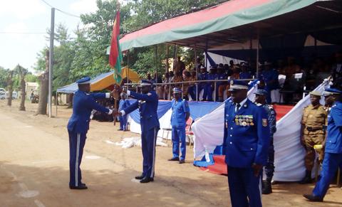 Gendarmerie nationale: Le Colonel Blaise Ouédraogo officiellement aux commandes de la 3ème région de Gendarmerie