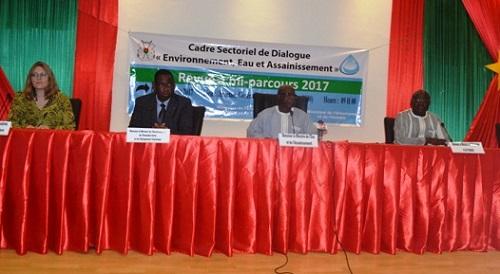 Cadre sectoriel de dialogue «Environnement, Eau et Assainissement»: Un bilan à mi-parcours mitigé