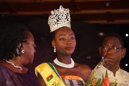 Miss Burkina 2017: Princesse Sévérine Poadiagué s'adjuge la couronne