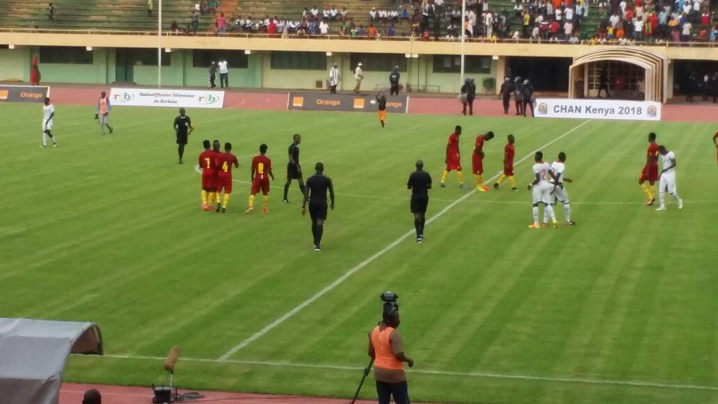 Eliminatoires CHAN 2018: Le Burkina et le Ghana se quittent dos-à-dos (2-2)