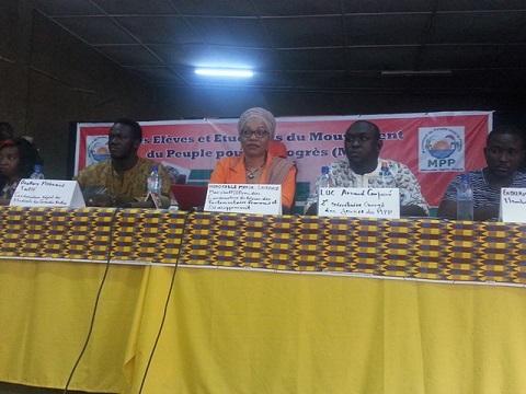 Jeunesse du MPP: Des élèves et étudiants à l'école de l'idéologie de leur parti
