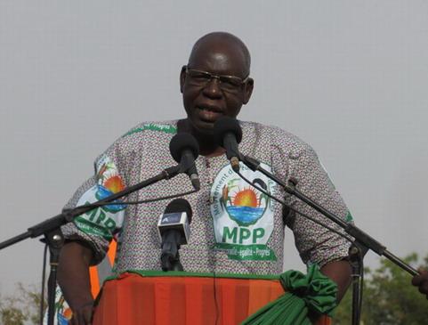 Décès de Salifou Diallo: Communiqué de la Présidence du Faso