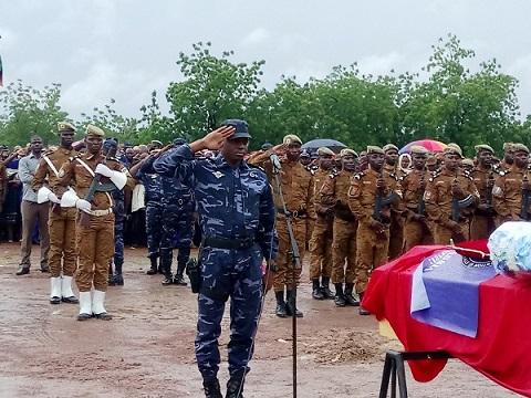 Inhumation du Mdl. Yassia Sawadogo: L'émouvant témoignage de son Commandant d'unité