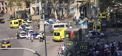 Barcelone:  L'Etat Islamique revendique l'attaque