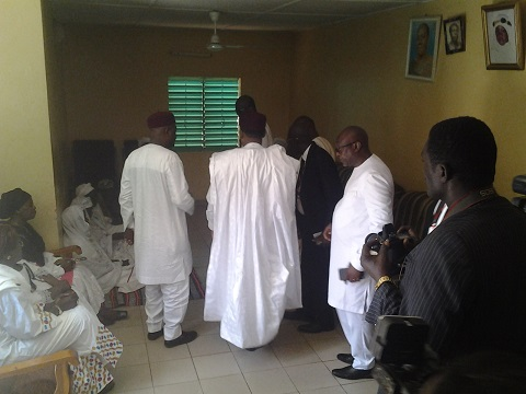 Ouahigouya: La maman de Salifou Diallo reçoit la visite des présidents burkinabè et nigérien