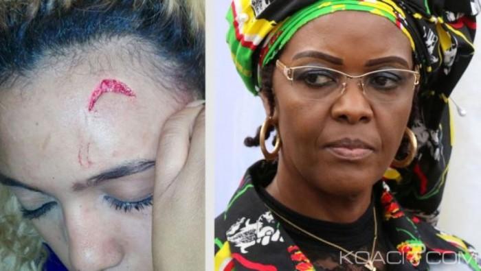 Agression d'un mannequin en Afrique du Sud: Grace Mugabe sauvée par l'immunité diplomatique