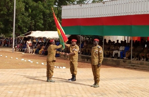 Deuxième région militaire du Burkina Faso: Le Colonel Gilles Bationo passe le témoin au Colonel Edmond Compaoré