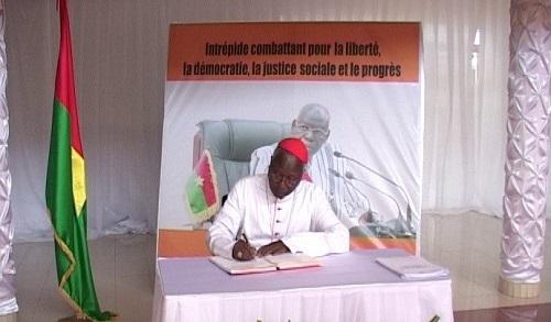 Décès de Salifou Diallo: Le message du Cardinal Philippe Ouédraogo