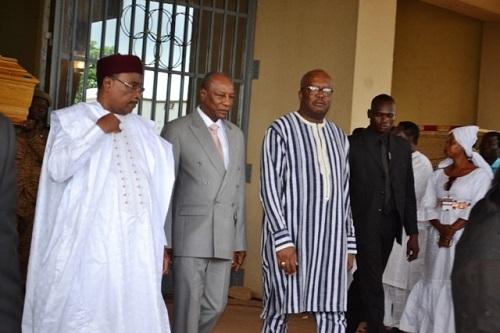 Hommage national à Salifou Diallo: Deux chefs d'Etat et plusieurs délégations à Ouagadougou