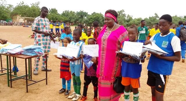 Football: Faso athlétic club outille les plus jeunes