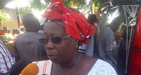 Disparition de Salifou Diallo: «On ne le suivait pas parce qu'on l'aimait mais pour ce qu'il voulait pour le peuple burkinabè», Juliette Congo, Secrétaire nationale chargée des femmes du MPP