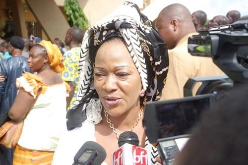 «Les nations survivent aux hommes», Saran Sérémé après la cérémonie d'hommage à Salifou Diallo