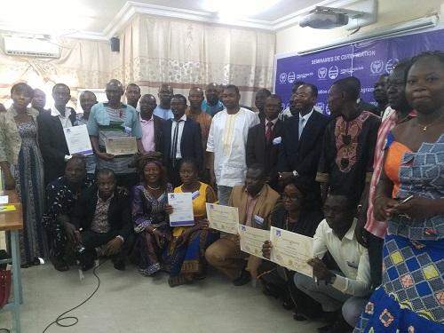 Suivi-évaluation des projets et programmes: 36 impétrants certifiés par la Fondation Science campus