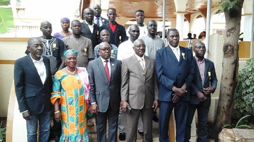 RDR: Quinze militants vivant au Burkina reçoivent des distinctions honorifiques
