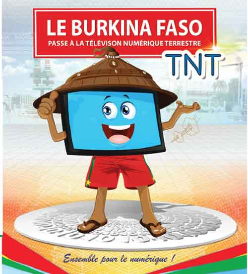 Le Burkina Faso passe à la Télévision Numérique Terrestre (TNT)