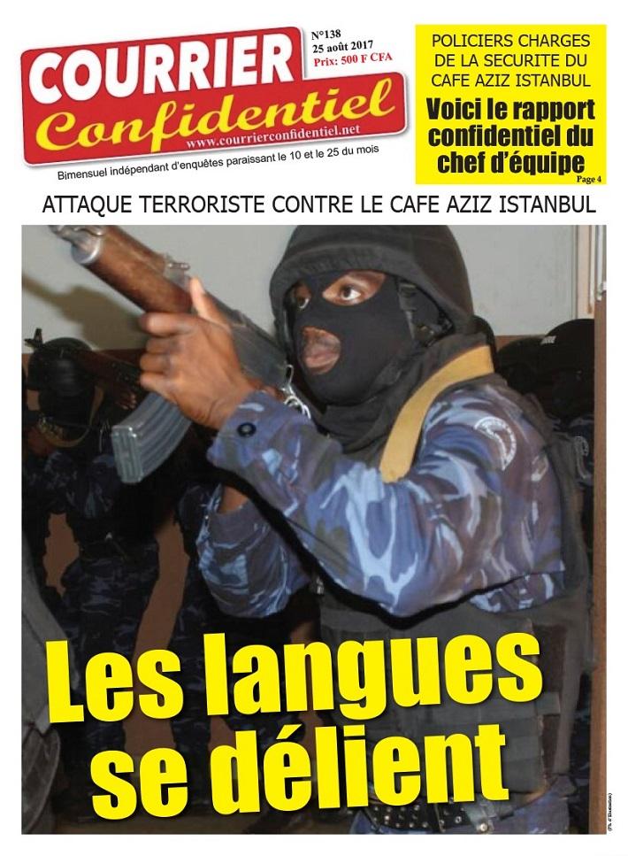 Votre journal «Courrier confidentiel» N°138  vient de paraitre!