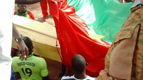 Militaire tué à Silmissin: Mahamadi Ilboudo repose désormais au cimetière de Gounghin