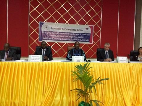 Millenium challenge corporation: Le Burkina achève la phase I du processus de formulation du 2nd compact