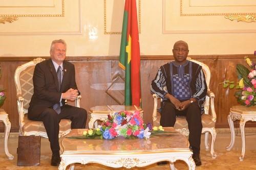 2e Compact du Millenium Challenge Corporation: L'ambassadeur des USA en parle à Paul Kaba Thiéba
