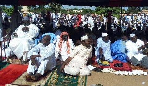 Tabaski 2017: «L'islam proscrit la terreur et toute forme de terrorisme», a rappelé l'Imam Aboubacar Sana