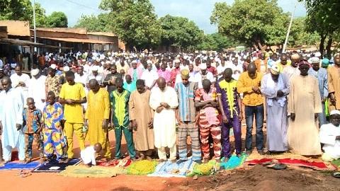 Célébration de la Tabaski à Gaoua: Les fidèles musulmans ont prié pour la paix