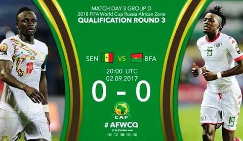 Eliminatoires du Mondial 2018: Un bon nul pour le Burkina