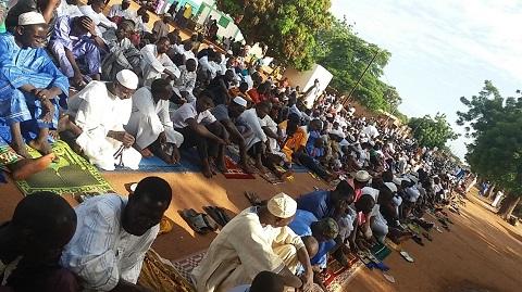 Tabaski à Dédougou: L'on a prié pour le repos des âmes des victimes des balles assassines des hommes armés