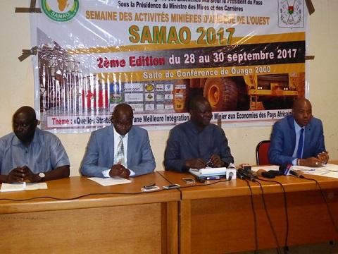 SAMAO 2017: Le Burkina s'attèle à  célébrer ses potentialités minières et géologiques