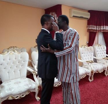 Burkina Faso: Le président du parlement africain a présenté ses condoléances aux autorités