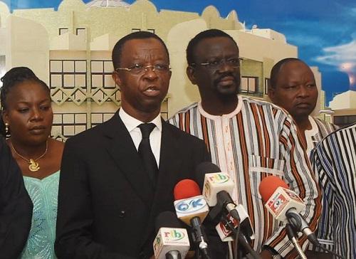 Décès de Salifou Diallo: Le soutien du parlement panafricain à Roch Kaboré