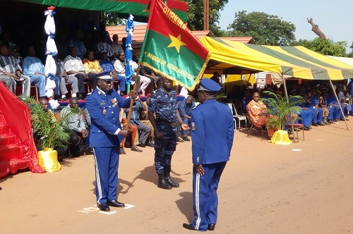 Deuxième région de Gendarmerie: Le colonel Sanon Kalifa Karim officiellement installé