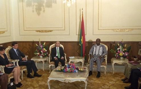 Fonds monétaire international: Le Directeur général adjoint en visite de travail au Burkina