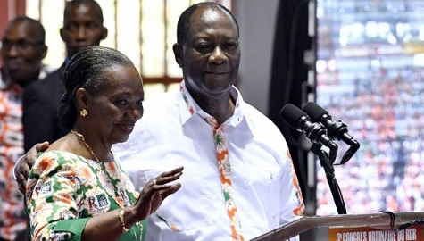 Côte d'Ivoire: Alassane Ouattara renonce à la présidence du RDR pour Henriette Diabaté