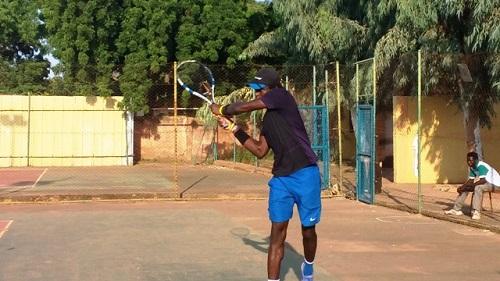 Sport: Joël Meda, le roi du tennis burkinabè