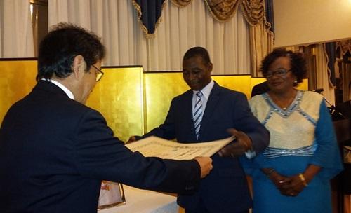 Coopération: Siaka Gobé, un Burkinabè décoré par le gouvernement japonais
