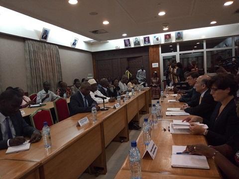 Economie: Le Directeur général adjoint du FMI à l'écoute du secteur privé burkinabè