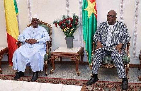 G5 Sahel: Ibrahim Boubacar Keïta est à Ouagadougou