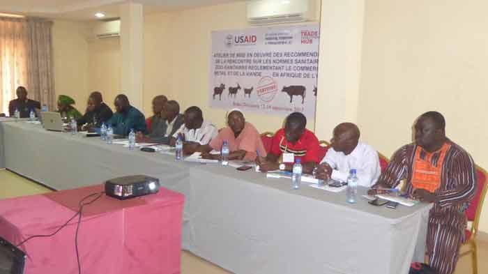 Commerce du bétail et de la viande en Afrique de l'ouest: bientôt un certificat vétérinaire mutuel