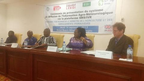 Information Agro-météorologique: La plateforme SMS/IVR au secours du monde rural
