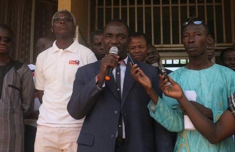 Grève du SYNASEB: «Quand on prend un engagement, il faut le tenir», Basolma Bazié de la CGT-B