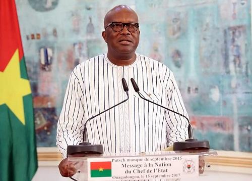An II de la Résistance au putsch: Le message du Président du Faso