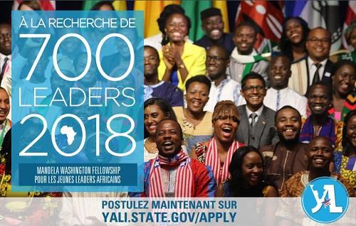 YALI 2018: Déposez votre candidature pour faire partie de la prochaine génération de leaders!