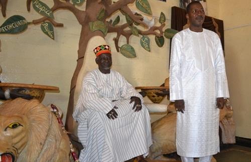 Assemblée nationale: Alassane Bala Sakandé s'abreuve à la source des autorités coutumières et religieuses