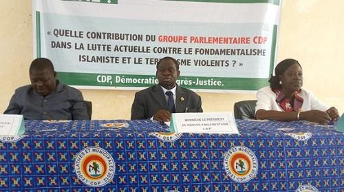 Alfred Sanou, Président du groupe parlementaire CDP: «Notre souhait est que le Président Blaise Compaoré puisse rejoindre sa patrie»