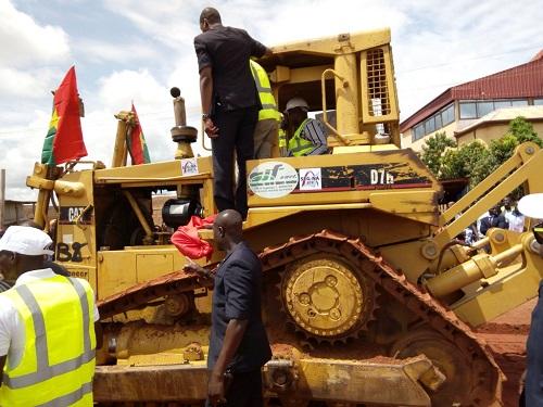 Voirie urbaine à Bobo: La «route de l'ONEA» qui mène à l'INSSA bientôt bitumée