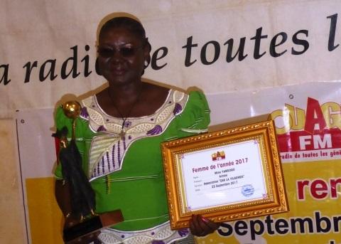Femme Ouaga FM 2017: Madame Yaméogo Aimée est la meilleure