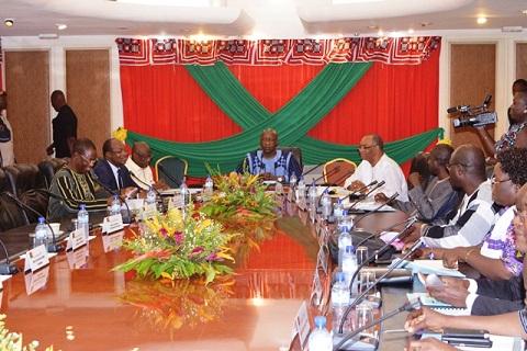 Promotion de l'économie rurale: Une rencontre ministérielle sur le code des investissements